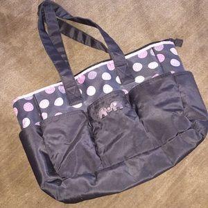 Babyboo elephant/polka dots babybag 100%polyester